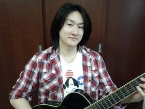 植木 琢磨(うえき たくま)講師-feelギター教室 西東京市田無校担当