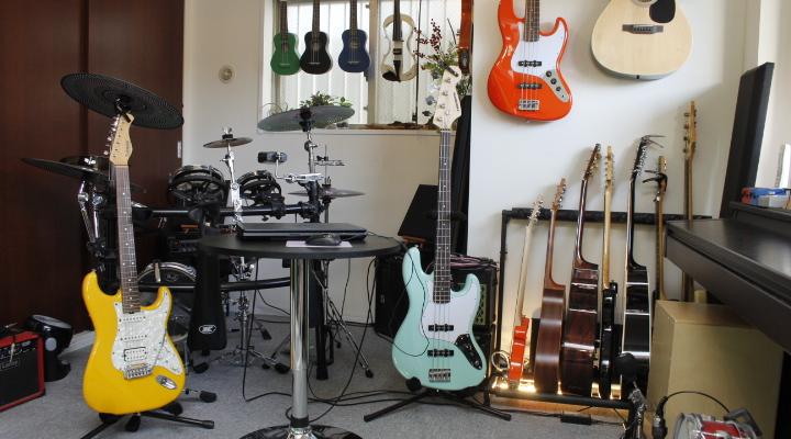 ギター 教室設備